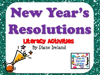 New Year's Resolutions Literacy Activities