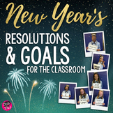 New Year's Resolutions - Making Goals | Bulletin Board | Inspirational Quotes