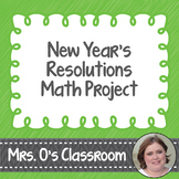New Years Resolutions Math Project