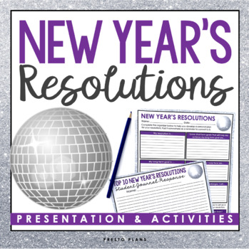 NEW YEARS RESOLUTIONS: Goal Setting