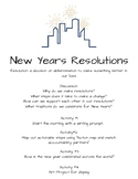 New Years Resolutions- Teach Actionable Change in your Classroom