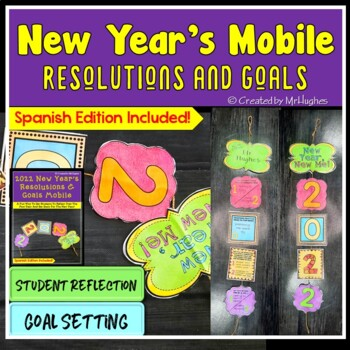 New Year's Resolutions and Goals Mobile 2017 Edition {FREEBIE}