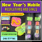 New Year's Resolutions and Goals Mobile 2018 Edition {FREEBIE}