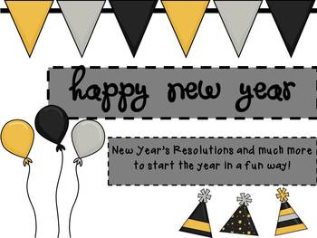 New Years Resolutions and More: Start the year with FUN!