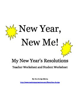 New Year's Resolutions for Teacher and Students