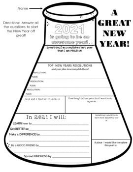 New Years Resolutions in Science Class