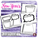 New Years Resolutions 2017 - Writing Activities