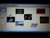 New Year's Sight Word SmartBoard Center