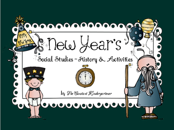New Year's Social Studies Activities and Crafts for Pre-K and Kindergarten