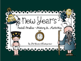 New Year's Social Studies Activities and Crafts for Pre-K