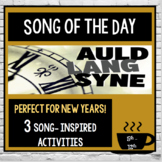 2018 New Years:   Song of the Day, Auld Lang Syne, Poetry, Research