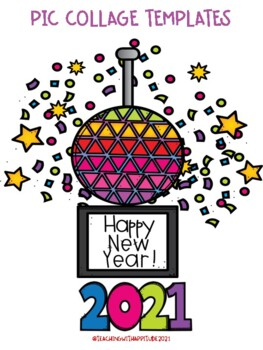 New Years Templates for Pic Collage