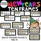 New Years Ten Frames Clipart  {New Years Clip art}