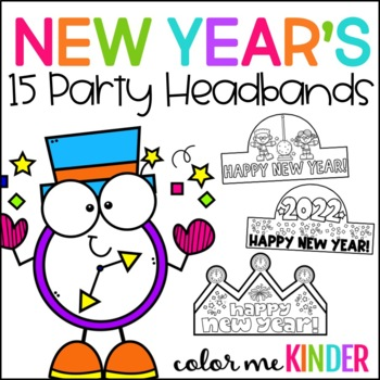New Year's Themed Headbands
