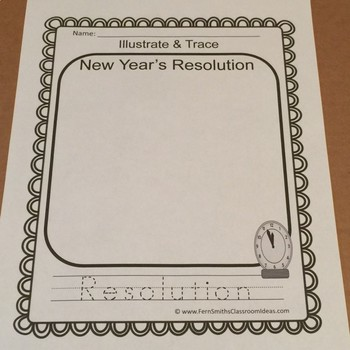 New Years Writing and Social Studies Center