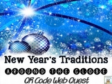 Web Quest: New Year's Traditions   January Centers QR Code