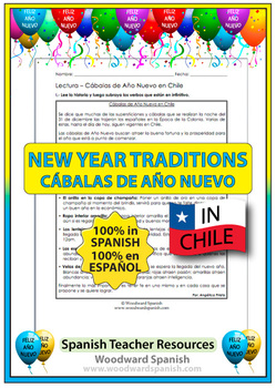 New Year's Traditions around the world: Chile (in Spanish)