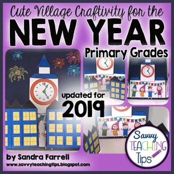 2017 New Years Village Craftivity