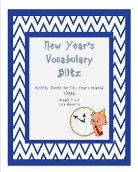 New Years Vocabulary Challenge