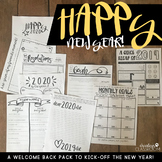 "New Year's ""Welcome Back"" Pack 