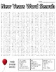 New Years Word Search: 3 Difficulties