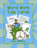 New Year's Word Work Task Cards Literacy Centers