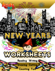 New Years Math and Literacy Workbook (55 pages)