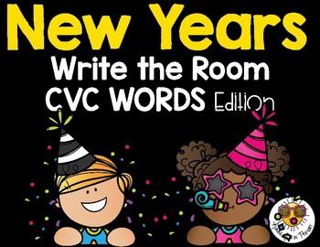 New Years Write the Room - CVC Edition