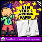 New Year's Writing Paper