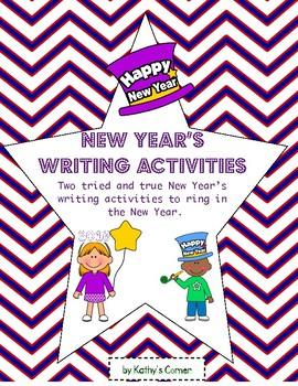 New Year's Writing Activities 2017
