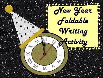 New Year's Writing Activity