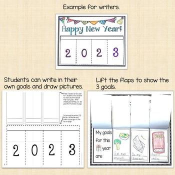New Years Writing Activity