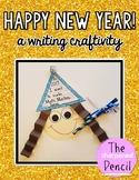 New Years 2018 Writing Craftivity