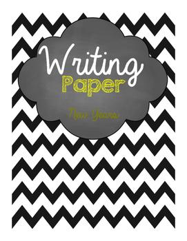 New Years Writing Paper