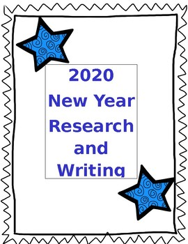 New Years Writing Project