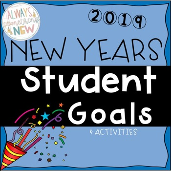 Goal Setting 2019 For Students--Resource--Behavior Sheets