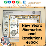 New Years eBook with Google Slides or PowerPoint
