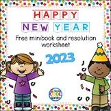 New Year's Mini Book {Freebie}