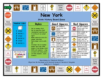 New York Board Game