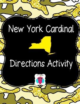 New York Cardinal Directions Activity