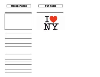 New York City Brochure Template