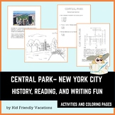 Central Park - New York City - History, Fun Facts, Colorin