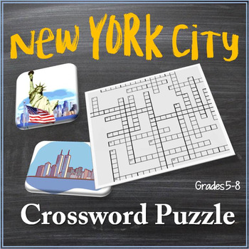 New York City Crossword Puzzle