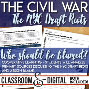 Riot teaching resources teachers pay teachers new york city draft riots civil war primary source analysis cooperative learning fandeluxe Gallery