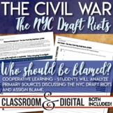 New York City Draft Riots Civil War Primary Source Analysi