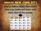 New York City Map Activity - fun, engaging, follow-along 25-slide PPT
