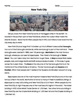 New York City Reading