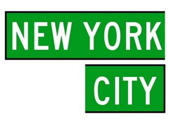 New York City Social Sudies and Community Signs for Bulletin Boards