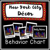 Behavior Chart Clip Chart Classroom Management Theme