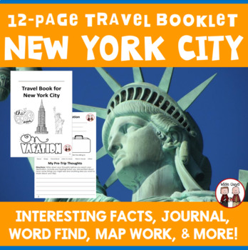 New York City Vacation Travel Booklet